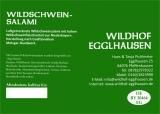Wildschweinsalami, 3er Pack